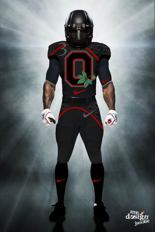 A College Football Get Jerseys Makeover