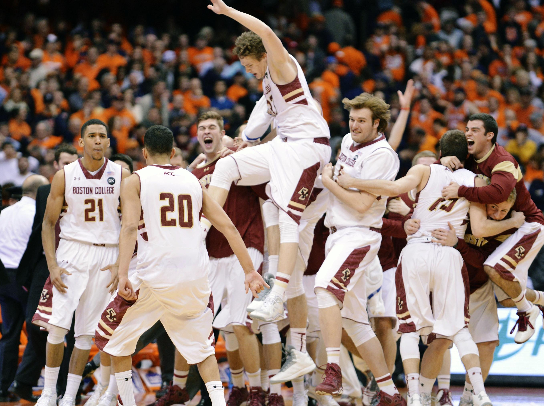 No Last Second Heroics... Orange Stunned By Boston College
