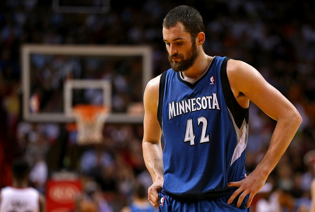 why kevin love is not feeling minnesota