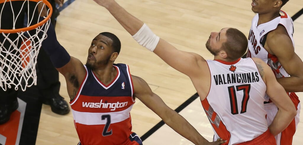Tom Szczerbowski, USA Today: A Raptors/Wizards first-round matchup would be dandy.