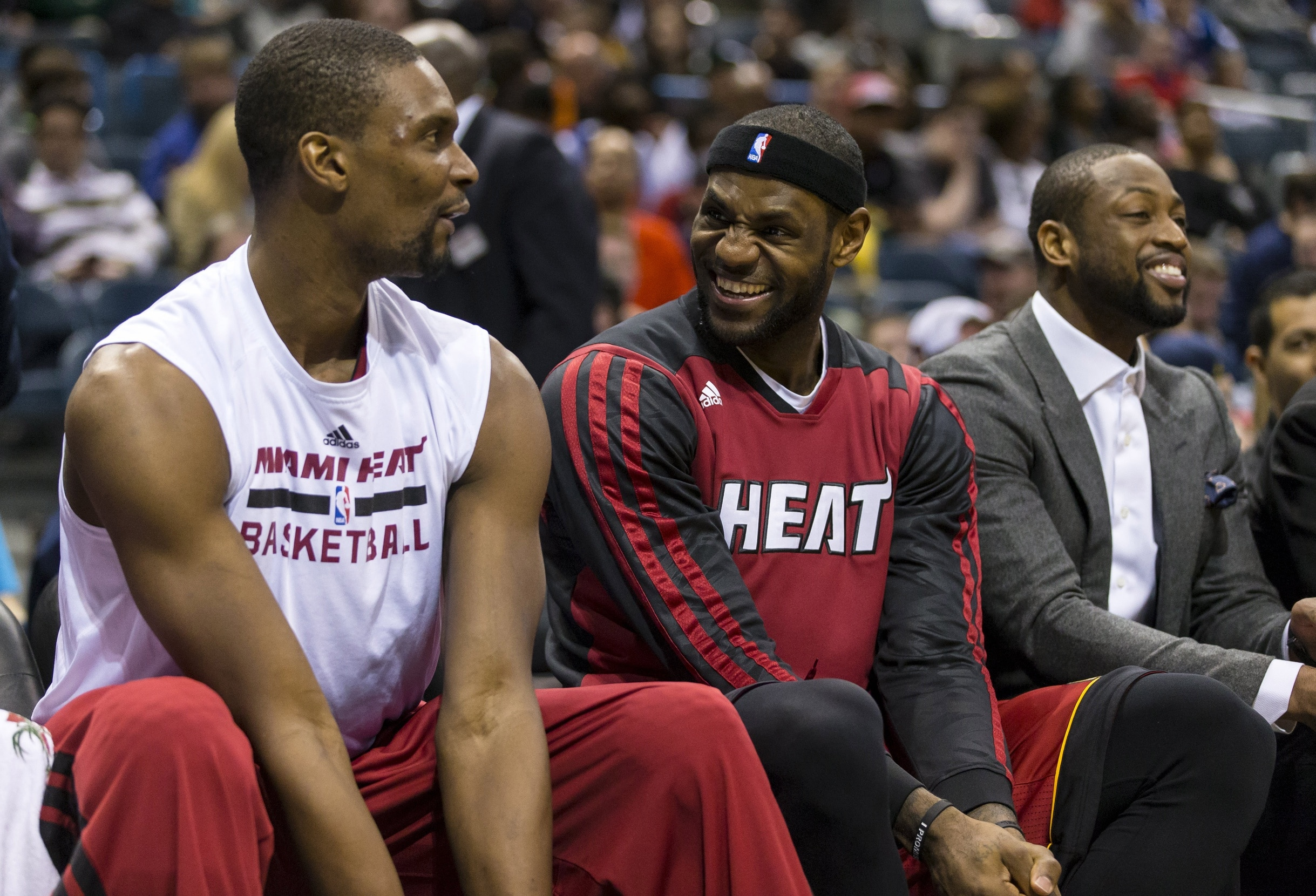 fdf9907fb9db WATCH  Emotional LeBron James pays tribute to Chris Bosh. By. Vincent  Frank. -. March 26