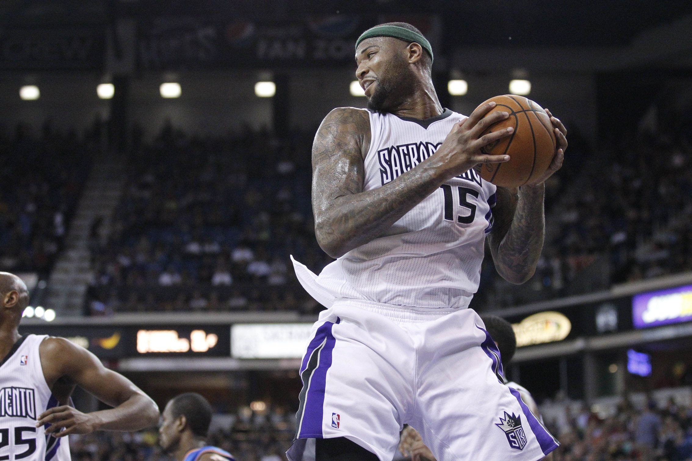 Cousins makes his first All-NBA Team. Photo via Cary Edmondson, USA Today Sports Images