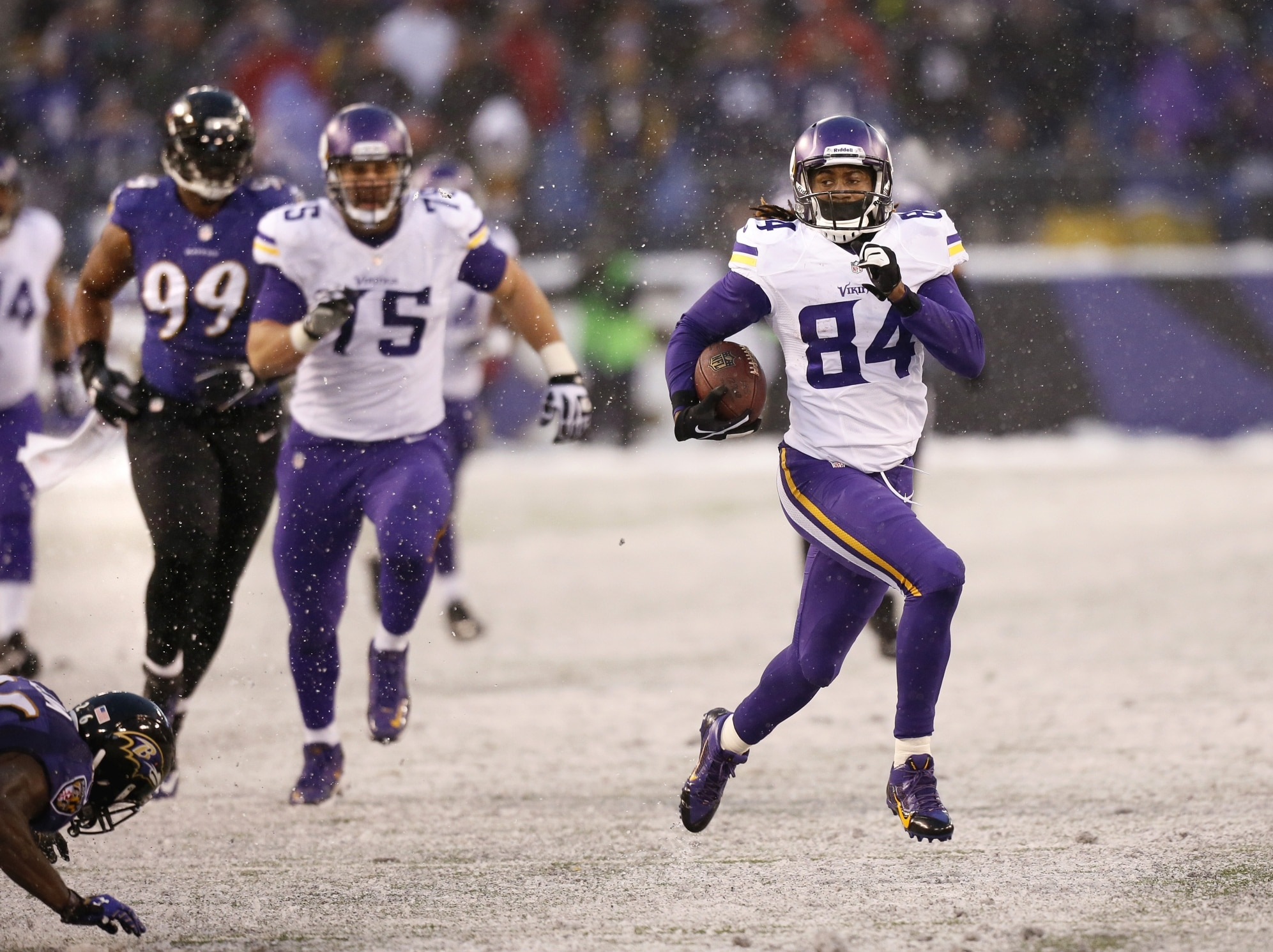Courtesy of The Star Tribune: Patterson is a break out ready to happen.