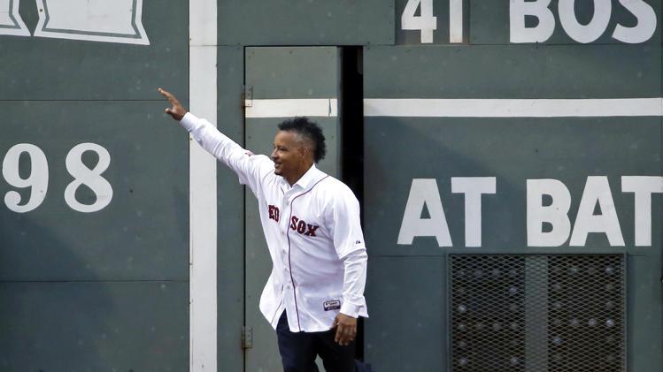 Manny is still loved in Boston. Photo: Yahoo.com