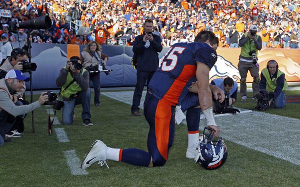 Tebowmani hit Denver hard. Photo: cbssports.com