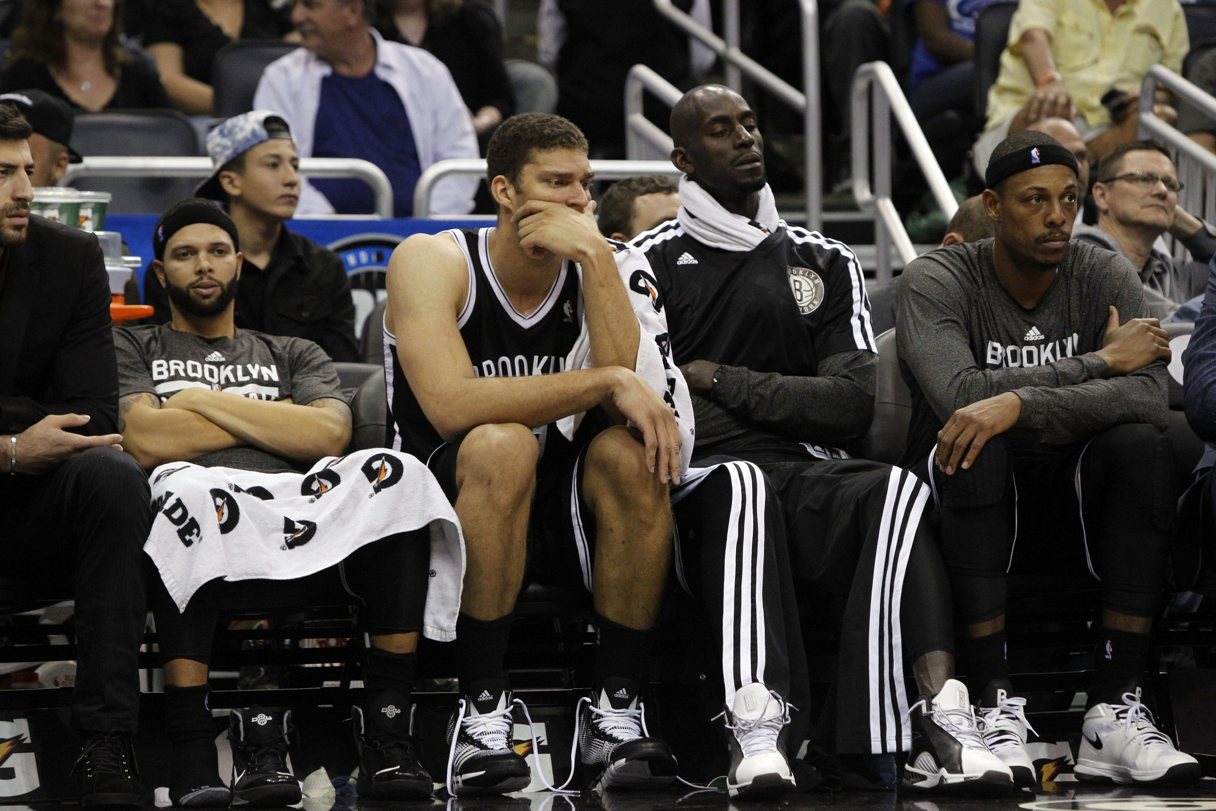 Things looked bad for the Nets early in the season. Photo: Kim Klement-USA TODAY Sports