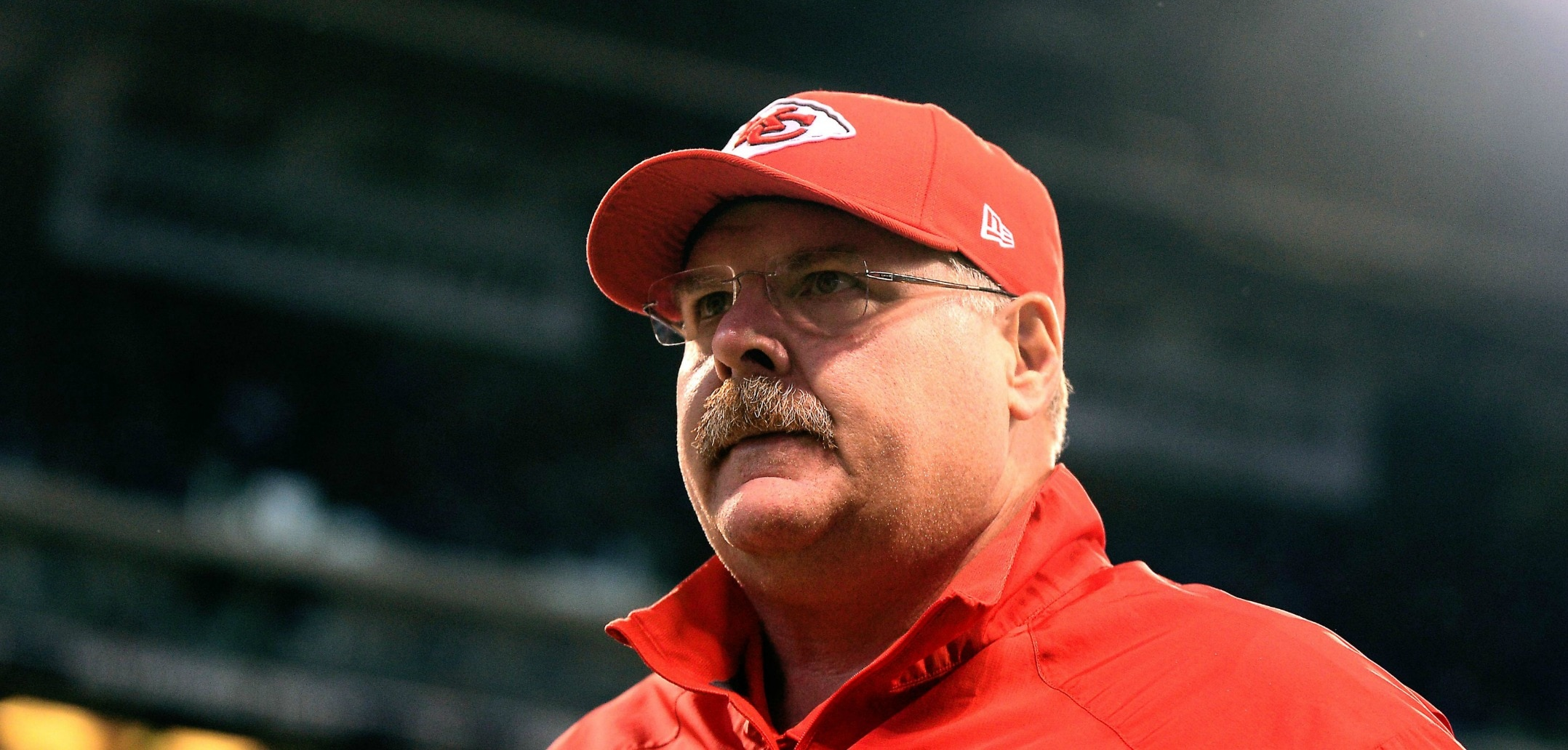 Chiefs head coach Andy Reid in NFL Week 6