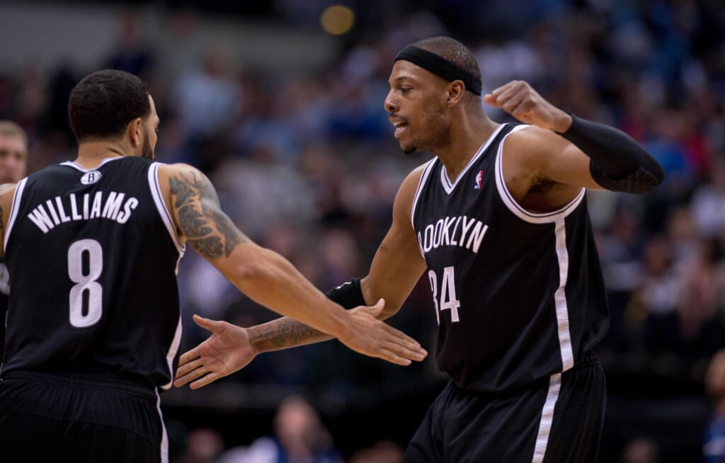 Paul Pierce is now part of one of the most infamous trades in NBA history.