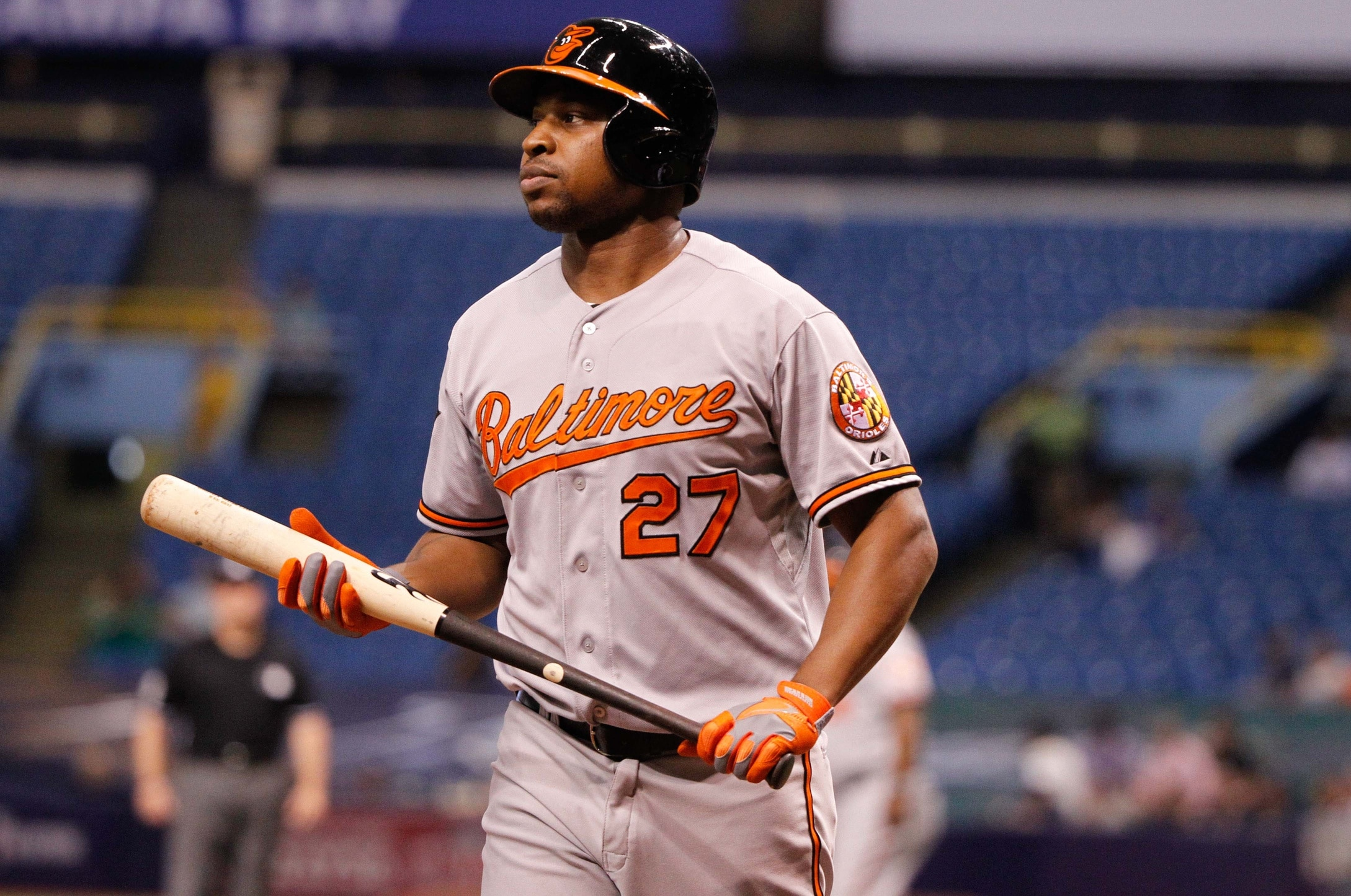 Don't let your kids learn fundamentals from Delmon Young. Photo: Kim Klement-USA TODAY Sports