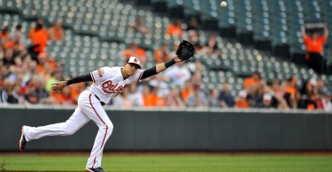 Manny Machado of the Baltimore Orioles