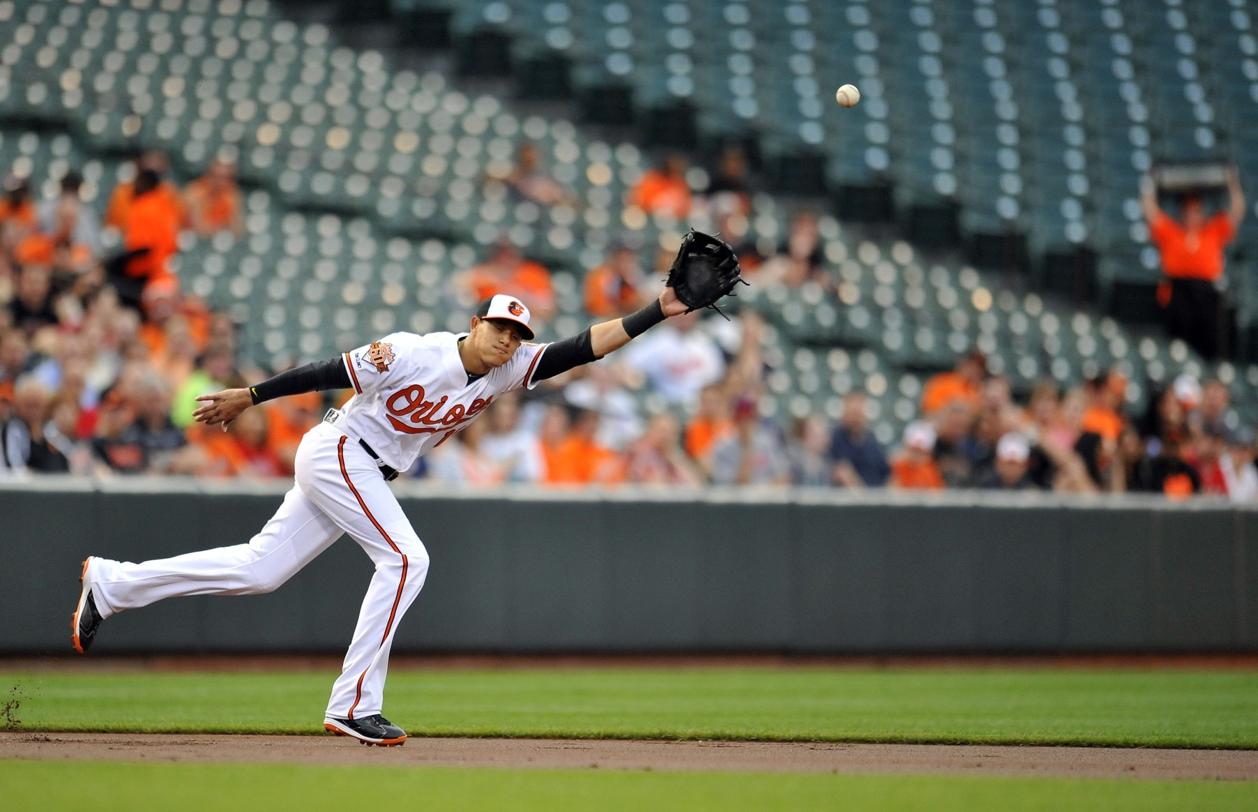 Manny Machado of the Baltimore Orioles