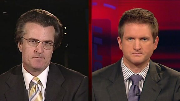 Kiper vs McShay. Every day. For 12 weeks. Photo:  Notredamegoirish.blogspot.com