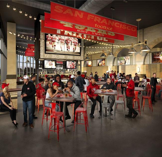 49ers.com: The Bourbon Steakhouse and Pub.