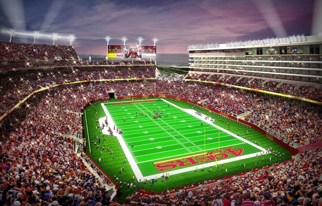 Levis Stadium Capacity >> In-Depth Look at New San Francisco 49ers Stadium