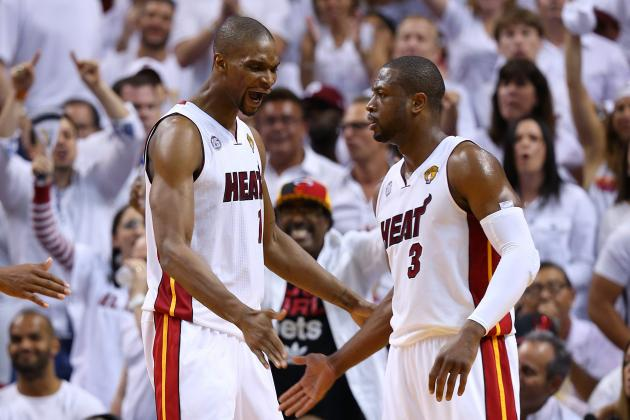 Courtesy of USA Today: Are Wade and Bosh prepared to step up?