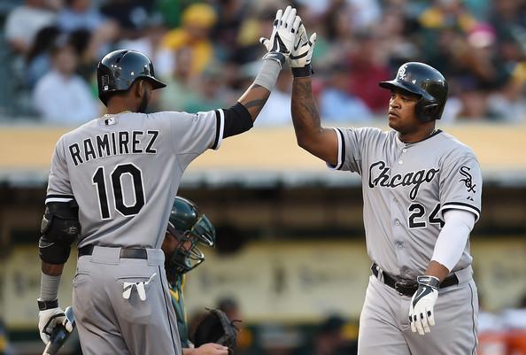 Viciedo And Ramirez - Source: Thearon W. Henderson/Getty Images North America