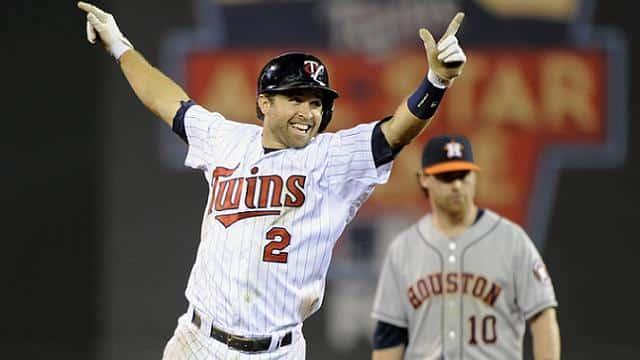 Dozier has 14 home runs. Mauer has two. Yeah, so... Photo: Sportsrants.com