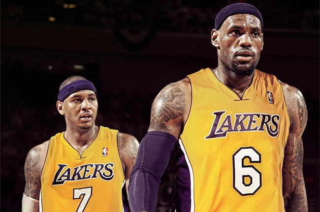 Lakers cans can dream can't they? Photo: bleacherreport.com