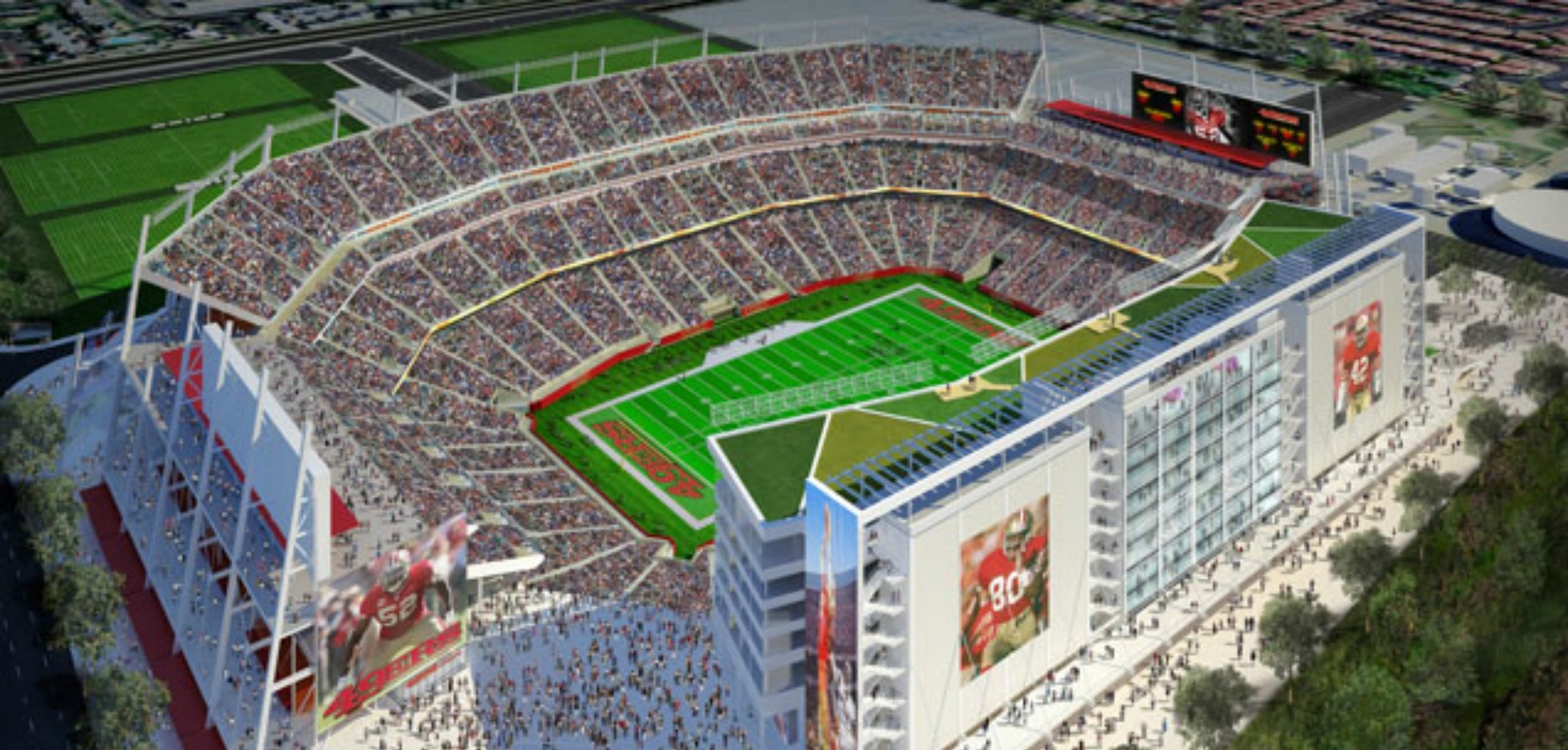Fantasy Football Sports Lounge Offered At 49ers New Levi