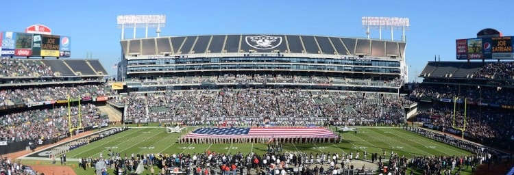 Both the NFL and the Raiders know that O.co isn't a long-term solutio in Oakland.