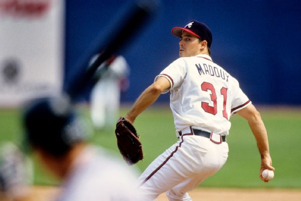 "Courtesy of ESPN: Known as ""Doc,"" Maddux was among the most dominating pitchers of the modern era."