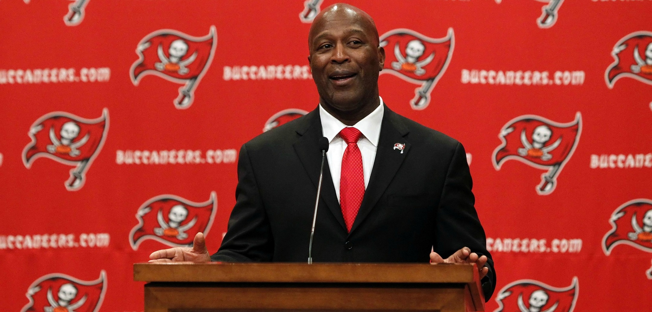 Courtesy of USA Today: Lovie Smith is a dramatic upgrade from a scheme standpoint over Greg Schiano.
