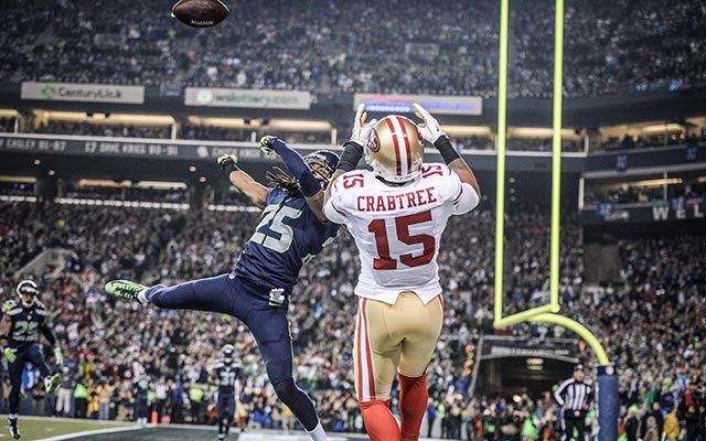 Courtesy of CBS Sports: 49ers were THIS close to a second straight NFC title in 2013.
