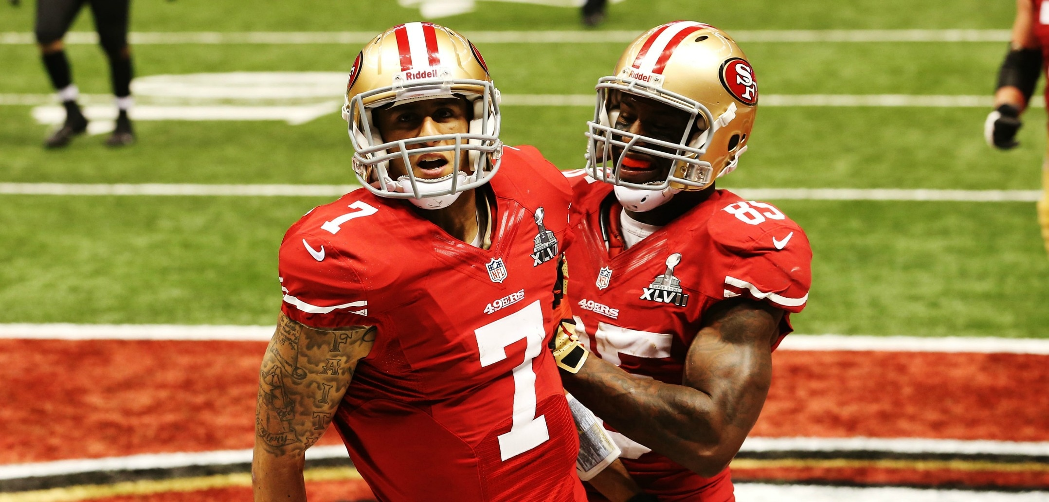 Courtesy of CBS Sports: Losing Kaepernick's dynamic ability would hurt the 49ers big time.