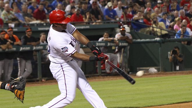 Courtesy of Fox Sports: If made available, Beltre would be the best bat on the market.