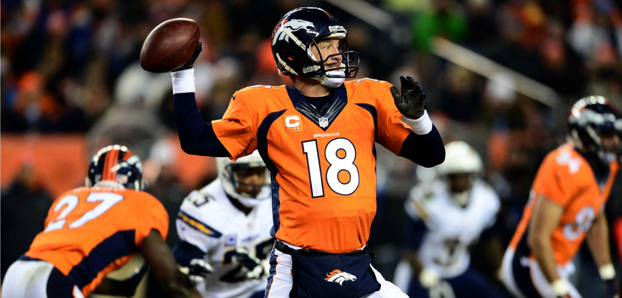Courtesy of Fox Sports: Manning has won five MVP's for a reason.