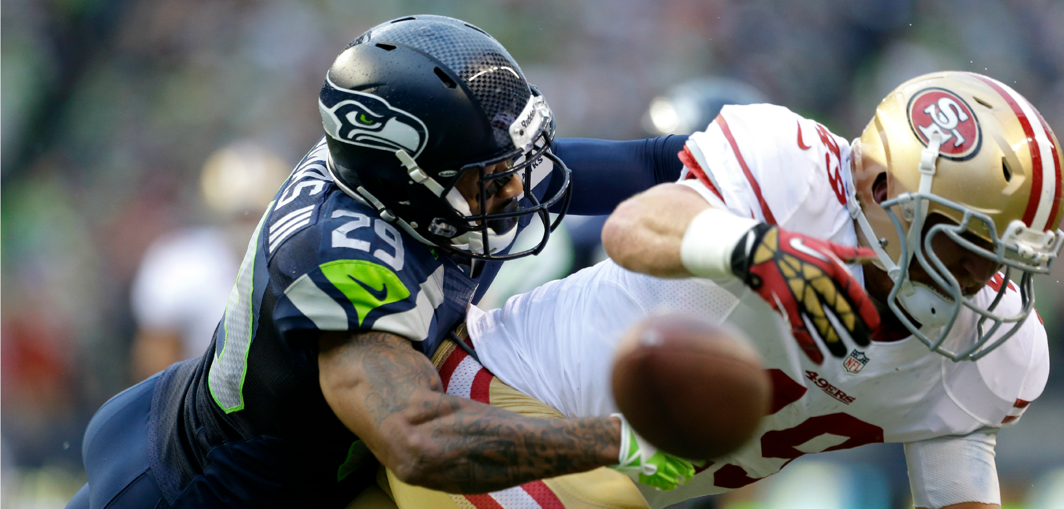 Courtesy of USA Today: Along with J.J. Watt, Thomas stands above the rest of NFL defenders.