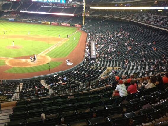 The Astros have been historically bad over the past few seasons. And the fans are noticing.