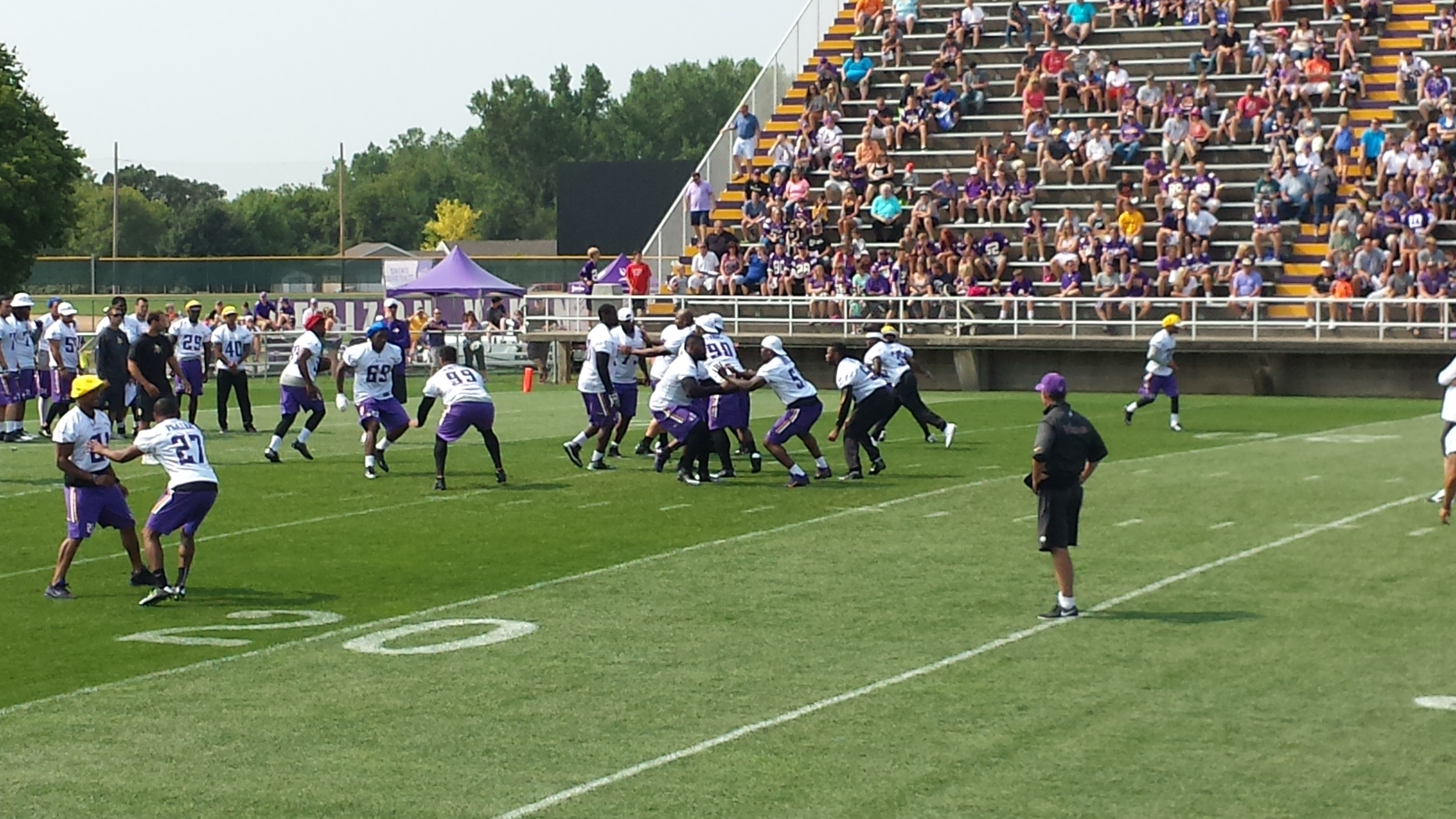 Coach Zimmer doing his thang.