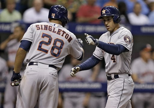 Springer and Singleton have huge potential for the Astros. Photo: bigstory.ap.org