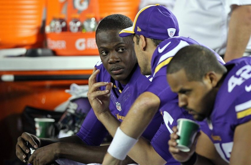 Bridgewater is soaking it all in. Perhaps taking in too much. Photo: thevikingage.com