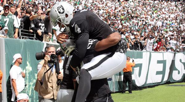 Courtesy of Raiders.com: Carr looks to imprve on above-average NFL debut.