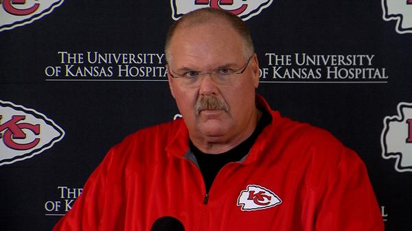 Courtesy of KCChiefs.com: Andy Reid's team is coming off a horrendous performance.