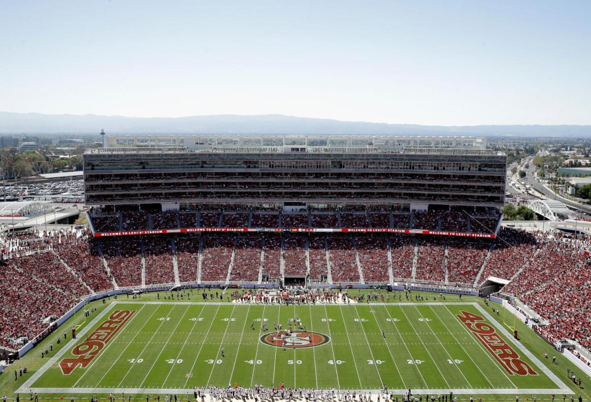 Courtesy of 49ers.com: 49ers need new home-field advantage at Levi's.