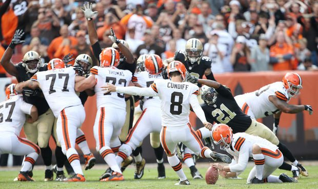Courtesy of Cleveland.com: By virtue of a last-second loss, New Orleans is now 0-2.