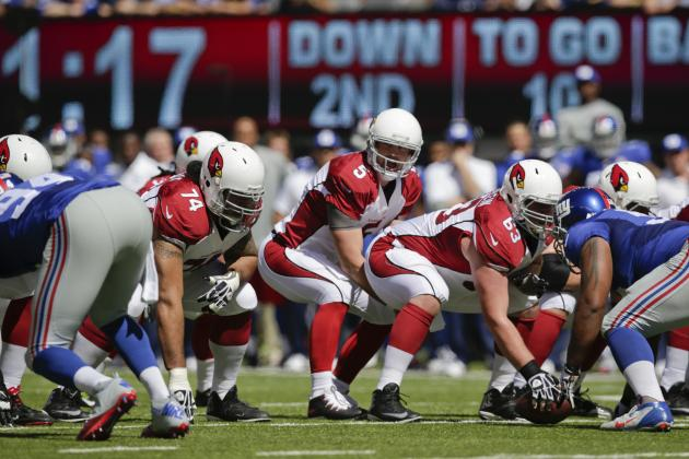 Courtesy of Bleacher Report: Drew Stanton led the Cardinals to a win on Sunday.