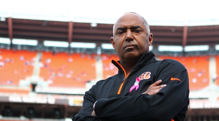 Courtesy of USA Today: Marvin Lewis may get scrutinized, but his Bengals team is playing well.