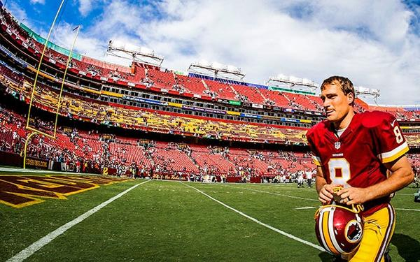 Courtesy of CBS Sports: Cousins has proven that he's the QB of the short-term in Washington.