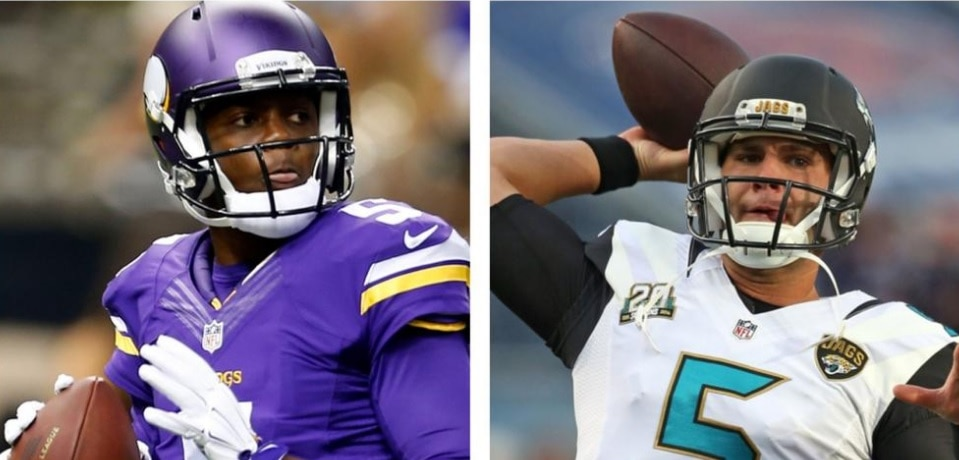 Courtesy of ESPN: New era's in Jacksonville and Minnesota.