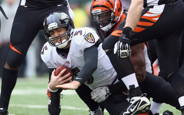Courtesy of Zimbo.com: Flacco and Co. will find it tough against a solid Bengals defense.