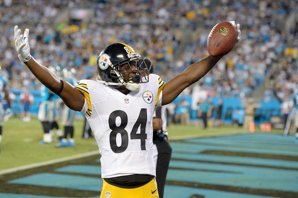 Courtesy of Zimbio: Brown has quickly become one of the most valuable WR's in the NFL.