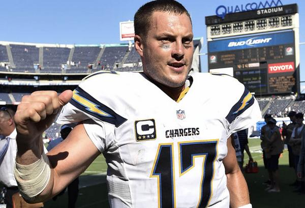 Courtesy of Chargers.com: Rivers' early-season performance ranks among the best in the NFL.