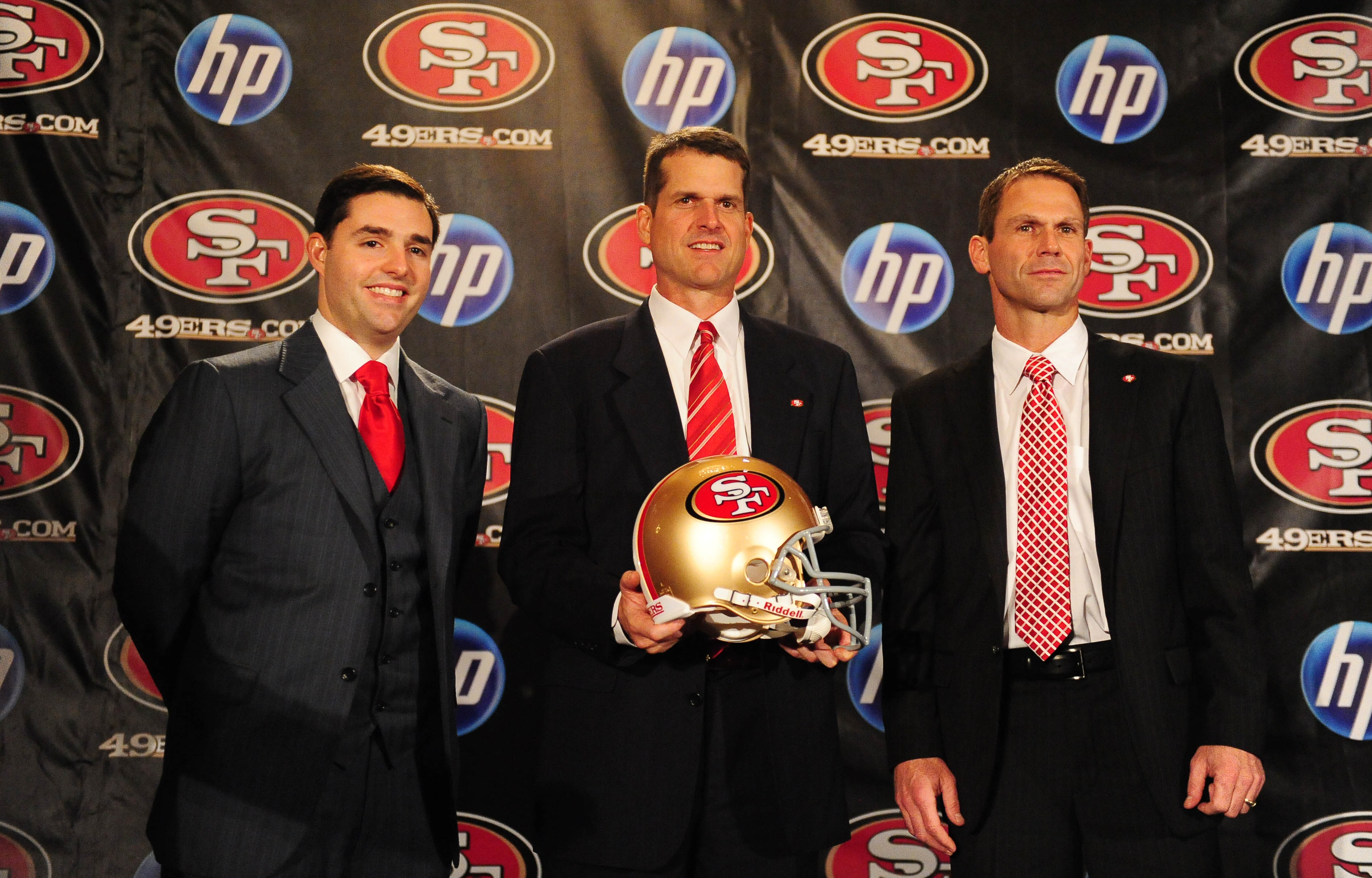 Courtesy of USA Today: No one expected immediate success when the 49ers hired Harbaugh in 2011.