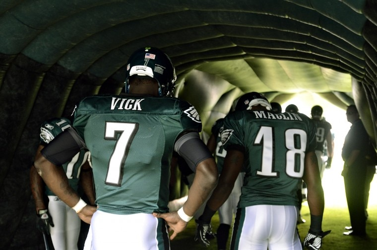 Courtesy of Eagles.com: Back in 2011, no one thought the 49ers had a shot against Philadelphia.