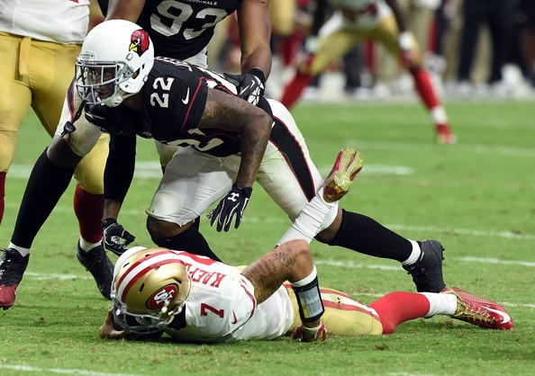Courtesy of Zimbio.com: After falling flat on their face last week, the 49ers are in must-win mode.