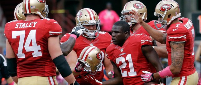 Courtesy of CSN Bay Area: Gore attempted six rushes last week.